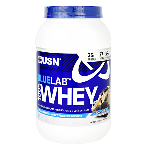 Usn Blue Lab 100% Whey - Cookies & Cream - 2 lb