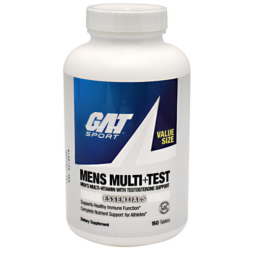 GAT Mens Multi + Test - 150 ea