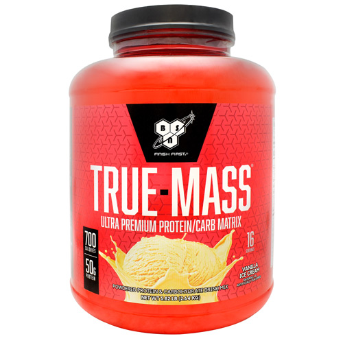 BSN True-Mass - Vanilla Ice Cream - 16 ea