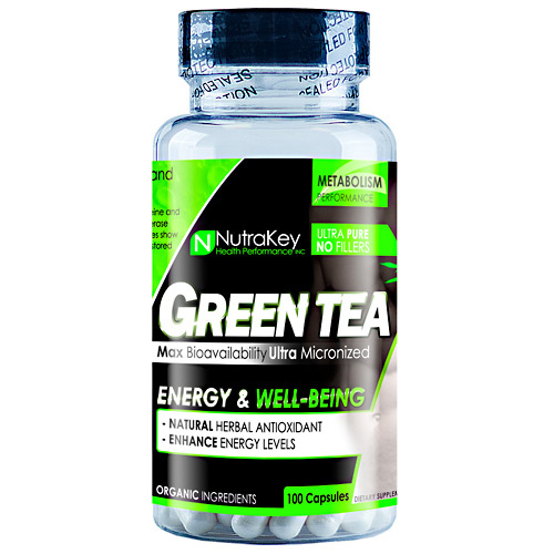 Nutrakey Green Tea Extract - 100 ea