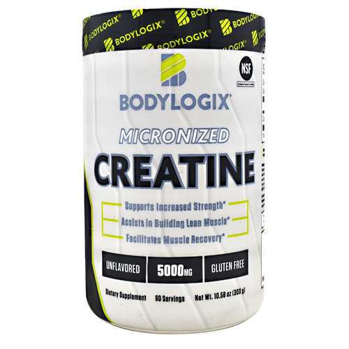 BodyLogix Micronized Creatine - Unflavored - 60 ea