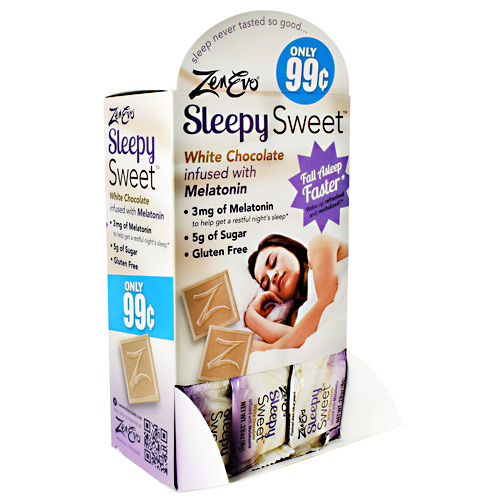 Zenevo Sleepy Sweet - White Chocolate - 50 ea