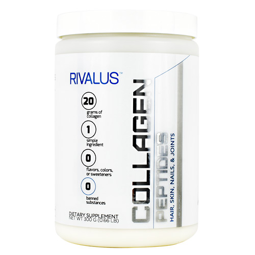 Rivalus Collagen Peptides - Unflavored - 15 ea