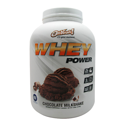ISS Research Oh Yeah! Whey Power - Chocolate Milkshake - 5 lb