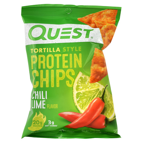 Quest Nutrition Protein Chips - Chili Lime - 8 ea