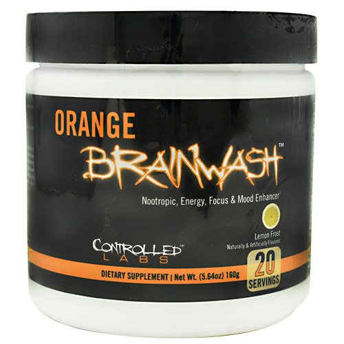 Controlled Labs Orange Brainwash - Lemon Frost - 20 ea