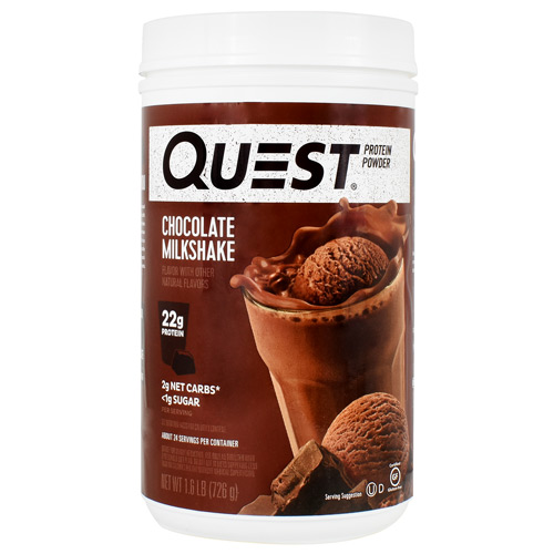 Quest Nutrition Protein Powder - Chocolate Milkshake - 1.6 lb