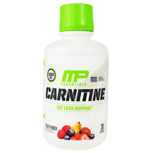 MusclePharm Essential Carnitine - Fruit Punch - 31 ea